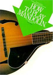 How to Play Mandolin.