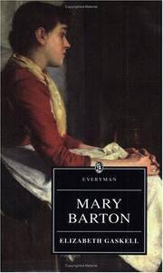 image of Mary Barton (Everyman's Library)