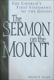 The Sermon on the Mount: The Church's First Statement of the Gospel