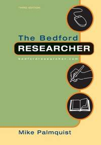 The Bedford Researcher with 2009 MLA Update