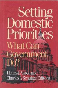 Setting Domestic Priorities: What Can Government Do