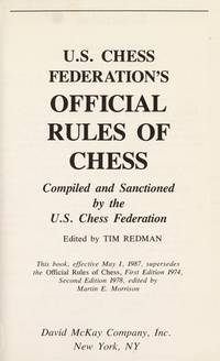 OFFICIAL RULES OF CHESS