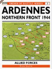 The Ardennes Offensive V US Corps & XV111 US Airborne Corps Northern Sector