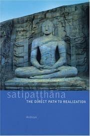 Sattipatthana The Direct Path to Realization