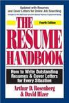 image of The Resume Handbook: How to Write Outstanding Resumes_Cover Letters for Every Situation