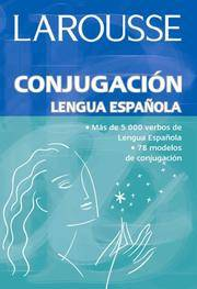 Conjugacion Lengua Espanola by na - Paperback - First Edition.  - 2007 - from McPhrey Media LLC (SKU: 77810)