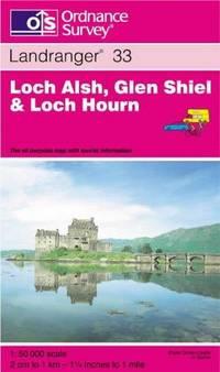 Loch Alsh, Glen Shiel and Loch Hourn (Landranger Maps) by Ordnance Survey - Paperback - Revised edition - from Brit Books Ltd and Biblio.com