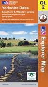 image of Yorkshire Dales: Southern and Western Areas (Explorer Maps): Southern and Western Areas (Explorer Maps) (OS Explorer Map)