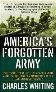 America's Forgotten Army