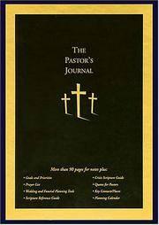 The Pastor's Journal