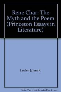 Rene Char: The Myth and the Poem