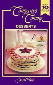 Desserts (Companys Coming No 6)