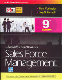 Sales Force Management (Special Indian Edition), (Ninth Edition)