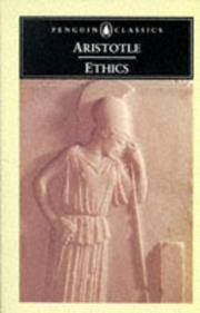 The Ethics of Aristotle The Nicomachean Ethics (Penguin Classics)