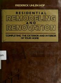 Residential Remodeling and Renovation