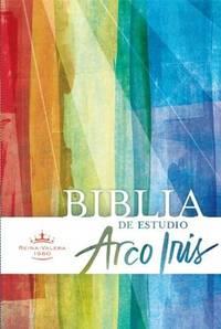 RVR 1960 Biblia de Estudio Arco Iris, tapa dura (Spanish Edition)