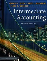 Intermediate Accounting by  Terry D  Jerry J.; Warfield - Hardcover - from Borgasorus Books, Inc and Biblio.com