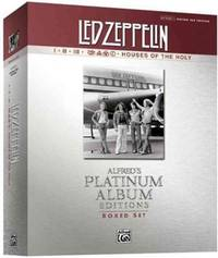 Led Zeppelin I, II, III, IV, Houses of the Holy Boxed Set, Guitar TAB, Alfred's Platinum...