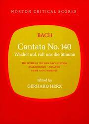 Cantata No. 140 (Norton Critical Scores)