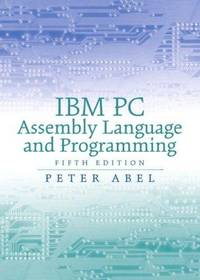 IBM PC Assembly Language and Programming(5th Hardcover edition)