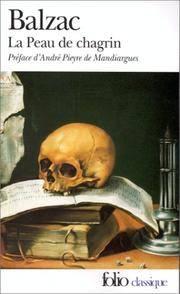La Peau De Chagrin (Folio) (French Edition)