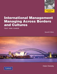 image of International Management: Managing Across Borders and Cultures, Text and Cases: International Edition