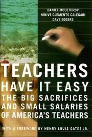 TEACHERS HAVE IT EASY: The Big Sacrifices & The Small Salaries Of Our Childrens Teachers