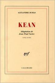 image of Kean - Adaptation de Jean-Paul Sartre (French Edition)