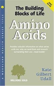 Amino Acids (Woodland Health Ser) [Paperback] Udall, Kate Gilbert
