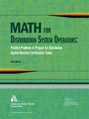 Math for Distribution System Operators: Practice Problems to Prepare for Distribution System Operator Certification Exams by  John Giorgi - Paperback - from Russell Books Ltd and Biblio.com