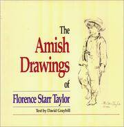 The Amish Drawings of Florence Starr Taylor. [hardcover].