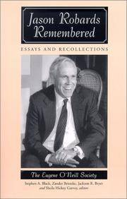 Jason Robards Remembered: Essays and Recollections by  Professor Stephen A [Editor];  Zander [Editor]; Black - Paperback - 2002 2019-08-22 - from Resource for Art and Music Books (SKU: 151106002)