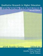 Qualitative Research in Higher Ed: Expanding Perspectives (2nd Edition)