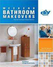 WEEKEND BATHROOM MAKEOVERS : DIY Network's Bathroom Renovation Series