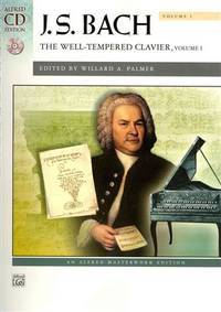 image of J S Bach: The Well-Tempered Clavier: Vol 1