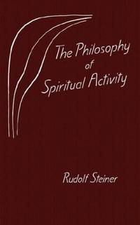image of The Philosophy of Spiritual Activity