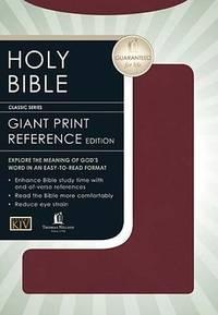 KJV Bible: Personal Size Giant Print Reference Edition