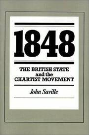 1848: The British State and the Chartist Movement