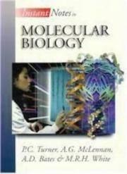 Instant Notes Molecular Biology