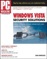 PC Magazine Windows Vista Security Solutions