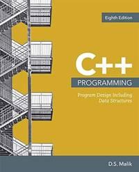 image of C++ Programming: Program Design Including Data Structures (MindTap Course List)
