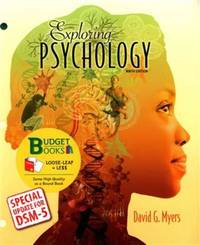 Exploring Psychology (Loose Leaf) with DSM5 Udpate & LaunchPad 6 Month Access Card