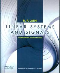 Linear Systems and Signals (Oxford Series in Electrical and Compute)