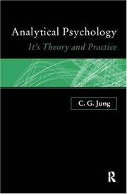 image of Analytical Psychology. Its Theory And Practice