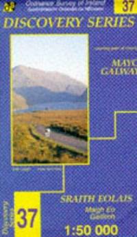 image of Irish Map Discovery: Mayo (South West) and Donegal Sheet 37 (Discovery S.)