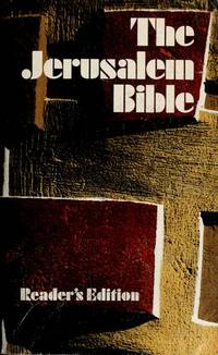 The Jerusalem Bible Reader's Edition