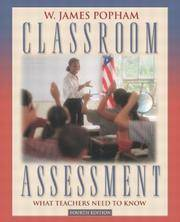 Classroom Assessment: What Teachers Need to Know (4th Edition)