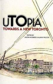 image of uTOpia: Towards a New Toronto