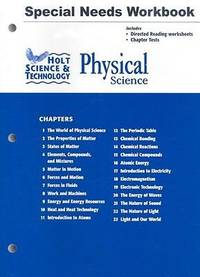 Holt Science & Technology by Holt, Rinehart and Winston