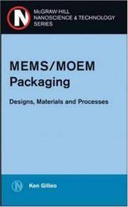 MEMS/MOEM Packaging : Concepts, Designs, Materials and Processes